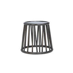 KYOTO RATTAN SIDE TABLE ROUND 51 | Side tables | JANUS et Cie