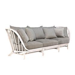 KYOTO RATTAN SOFA 3 SEAT | Divani lounge | JANUS et Cie