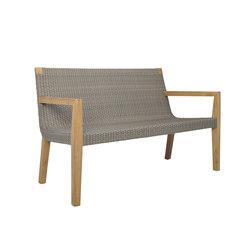 QUINTA TEAK / WOVEN SOFA 2 SEAT | Divani | JANUS et Cie