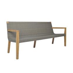 QUINTA TEAK / WOVEN SOFA 3 SEAT | Sofas | JANUS et Cie