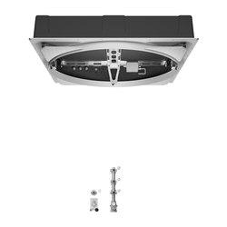 Concealed Products - AQUAMOON Panneau de pluie à encastrer avec Module xTool | Éléments encastrés | Dornbracht