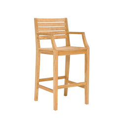 RELAIS BARSTOOL WITH ARMS | Barhocker | JANUS et Cie