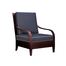 SAVANNAH LOUNGE CHAIR | Garden armchairs | JANUS et Cie