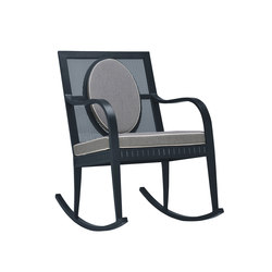 SAVANNAH ROCKING CHAIR | Garden armchairs | JANUS et Cie