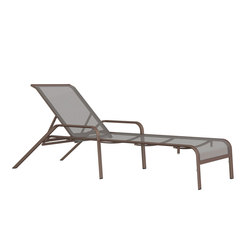 ZEPHYR CHAISE LOUNGE WITH ARMS | Tumbonas | JANUS et Cie