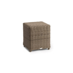 San Diego small footstool / sidetable | Poufs | Manutti