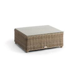 San Diego medium footstool / sidetable | Tavoli bassi da giardino | Manutti