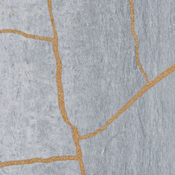 Kintsugi Blue Forest Tiles | Baldosas de piedra natural | Claybrook Interiors Ltd.