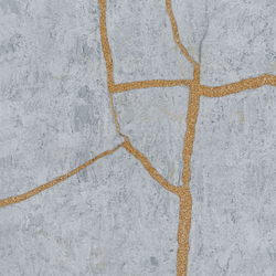 Kintsugi Blue Forest Tiles | Natural stone tiles | Claybrook Interiors Ltd.