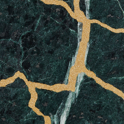 Kintsugi Verde Tiles | Natural stone tiles | Claybrook Interiors Ltd.