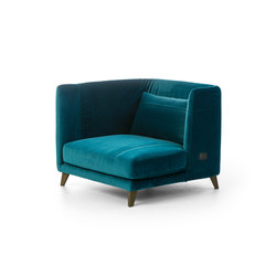 Gimme More Left armchair | Poltrone | Diesel with Moroso
