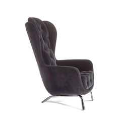 Guelfo velvet wingback | Sessel | Opinion Ciatti