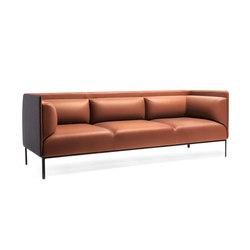 Crest sofa | Divani lounge | Materia