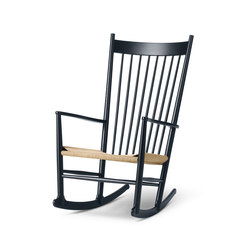 Wegner J16 Rocking Chair | Armchairs | Fredericia Furniture