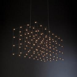 Cosmos Square Triple | Lámparas de suspensión | Quasar