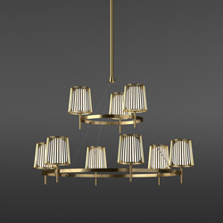Julia Chandelier | Suspensions | Quasar