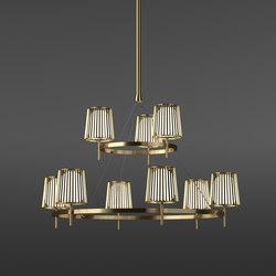 Julia Chandelier | Lámparas de suspensión | Quasar