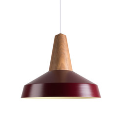 Eikon Circus Walnut Burgundy | Suspended lights | SCHNEID