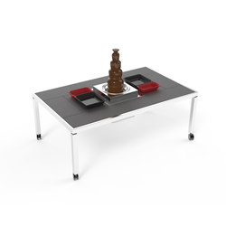 Dining table 'St. Moritz' | Chocolate fountain | Dining tables | La Tavola