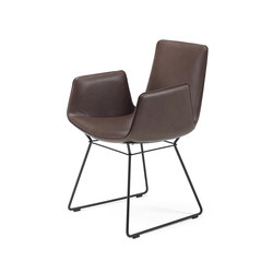 Amelie | Armchair with wire frame | Chairs | FREIFRAU MANUFAKTUR
