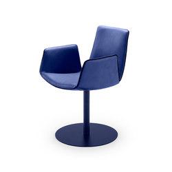 Amelie | Armchair with central leg | Chairs | FREIFRAU MANUFAKTUR