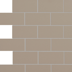 Retro Active 2.0 - Seal Taupe | Ceramic mosaics | Crossville