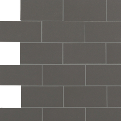 Retro Active 2.0 - Leaden | Ceramic mosaics | Crossville