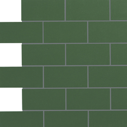 Retro Active 2.0 - Racing Green | Ceramic mosaics | Crossville