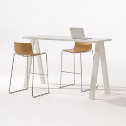 Cross Table | Tavoli alti | Arper