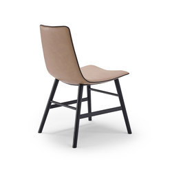 Amelie | Basic with wooden frame round | Chaises | FREIFRAU MANUFAKTUR