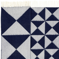 Mirror Throw | Blue | Rugs | Verpan