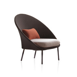 Twins Low armchair | Poltrone da giardino | Expormim