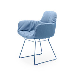 Leya | Armchair High mit Drahtgestell | Stühle | FREIFRAU MANUFAKTUR