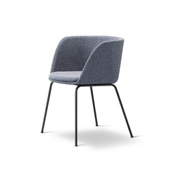 Verve 4 Leg - fully upholstered | Sièges visiteurs / d'appoint | Fredericia Furniture