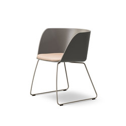 Verve Sledge - seat upholstered | Chairs | Fredericia Furniture