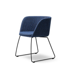 Verve Sledge - fully upholstered | Sillas | Fredericia Furniture