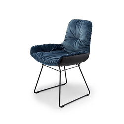 Leya | Armchair Low mit Drahtgestell | Stühle | FREIFRAU MANUFAKTUR