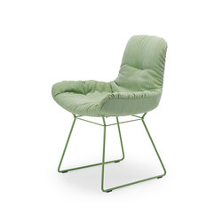 Leya | Armchair Low with wire frame | Sedie | FREIFRAU MANUFAKTUR