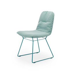 Leya | Chair with wire frame | Sillas | Freifrau Sitzmöbelmanufaktur