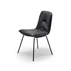 Leya | Chair with steel frame | Sedie | FREIFRAU MANUFAKTUR
