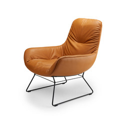 Leya | Lounge Chair with wire frame | Sillones lounge | Freifrau Sitzmöbelmanufaktur