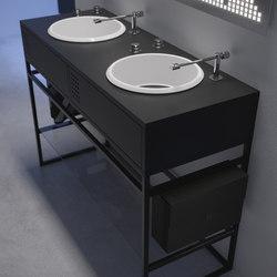 Vinyl double | Armarios lavabo | Olympia Ceramica