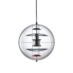 VP Globe | Coloured Glas - Pendant | Suspended lights | Verpan