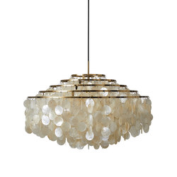 Fun Mother of Pearl 11DM | Pendant Brass | Suspended lights | Verpan