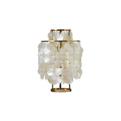 Fun Mother of Pearl 2TM | Table lamp Brass | Lampade tavolo | Verpan