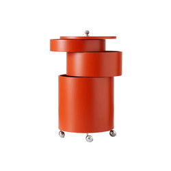 Barboy Orange | Table | Trolleys | Verpan