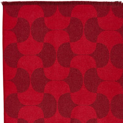 Polette | Throw Burgundy | Formatteppiche | Verpan