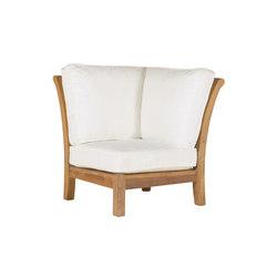 Chelsea Sectional Corner Chair | Gartensessel | Kingsley Bate