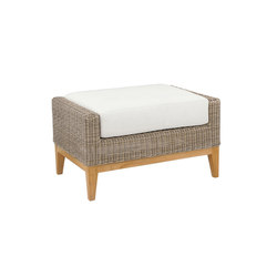 Frances Deep Seating Ottoman | Poufs | Kingsley Bate