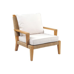 Hadley Deep Seating Lounge Chair | Sillones | Kingsley Bate